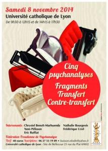 Conférence de Lyon 8 Novembre 2014